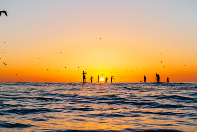 This image was from a warm up session in San Clemente right before the last BOP.  A lot of the guys came out, fun little waves, tons of marine life jumping, birds swarming and a beautiful sunset.  A memorable session for me.