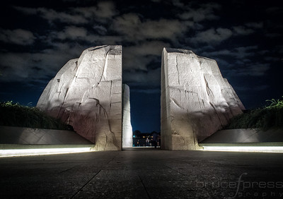 Martin Luther King Memorial Entrance