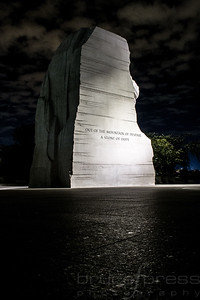 Martin Luther King Memorial Inscription