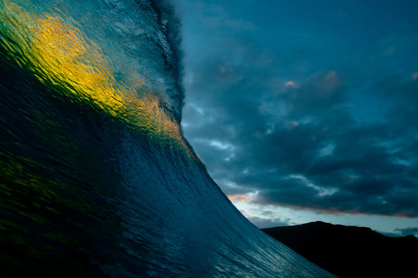 Tahitian Wave Shapes