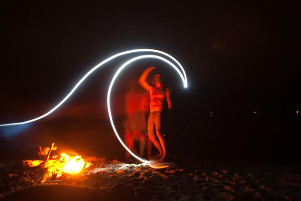 Nicaragua Light Painting