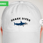Shark Diver Hat w/Applecorps On The Back $24.95