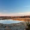 Pond Quarry Sunset