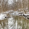 Yellow Springs Creek Winter Scene