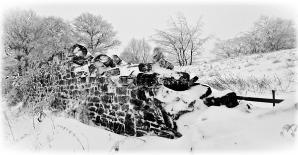 Wall in a Snow Drift, Grenoside, South Yorkshire, England