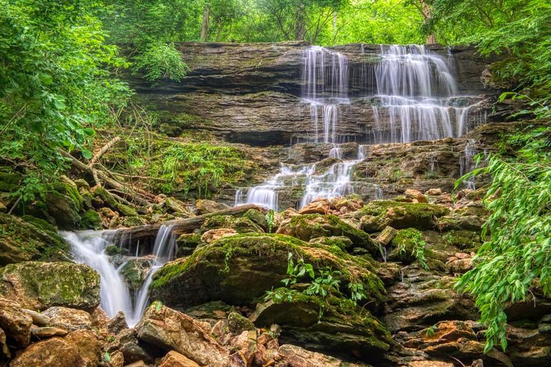John Bryan Cascading Waterfall
