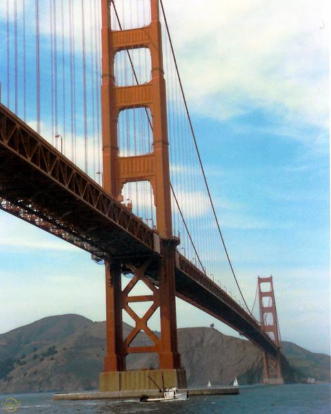 Golden Gate Bridge San Francisco. CA
