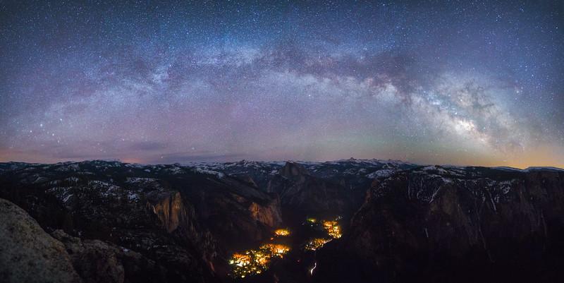 Yosemite Milky Way
