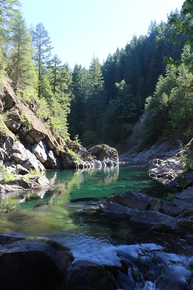 Clackamas River 1<br /> Mt Hood National Forest, Oregon.