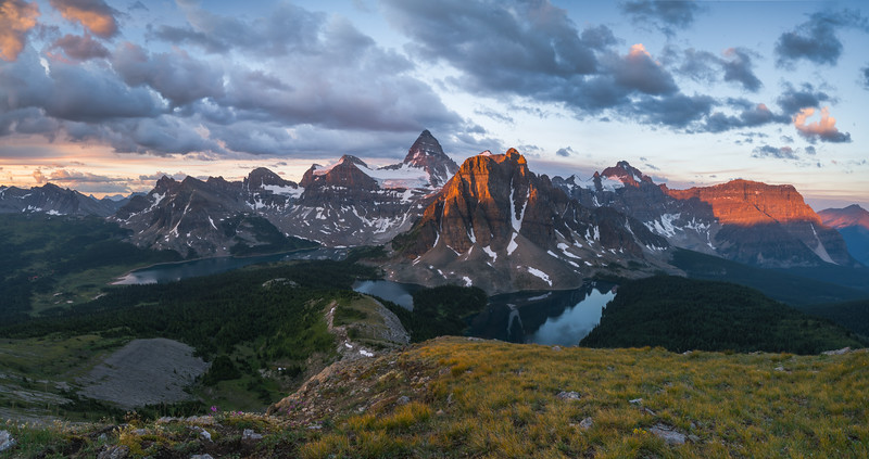 Assiniboine Sunrise (Pano)
