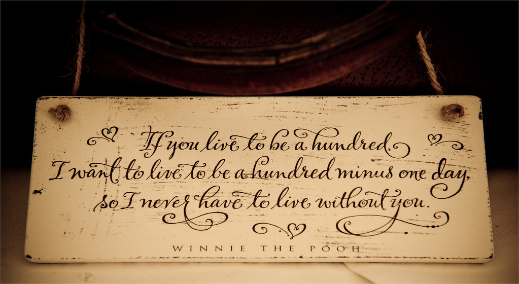If you live to be a hundred.......