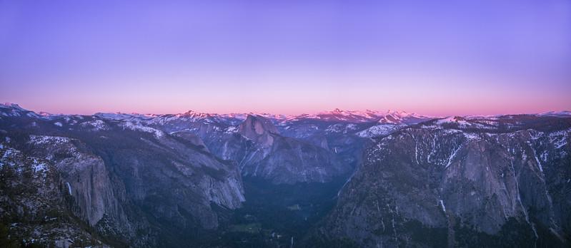 Eagle Peak Sunset