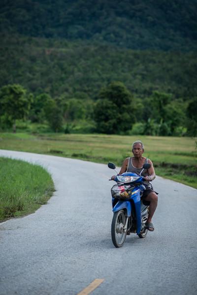 Cruising around Doi Suthep Mountain, Chiang Mai