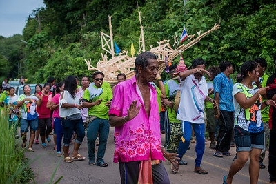 Local sea gypsy festival in Koh Lanta, Thailand