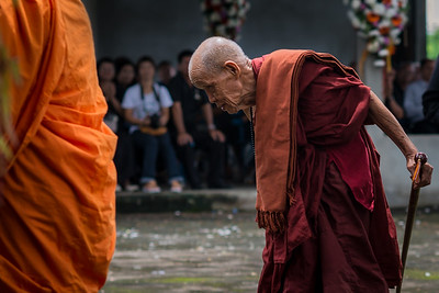 100-year-old monk