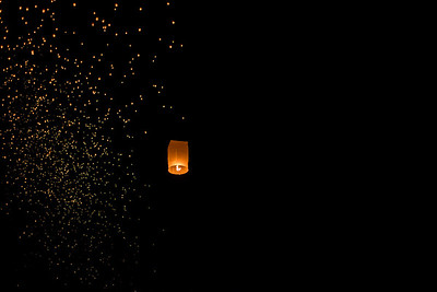 One of Thousands, Yi Peng Lantern Festival, Chiang Mai