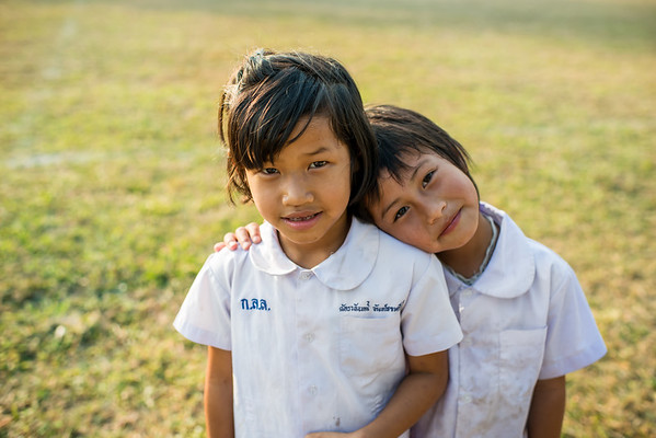 Two of my students, two of my friends. San Patong, Thailand