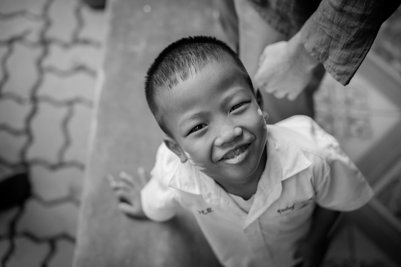 Charming little boy from a village in San Pa Tong
