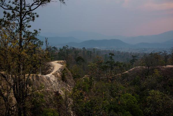 Pai Canyon at Sunset - Pai, Thailand