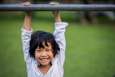 Hanging around in Giu Lae Village, Chiang Mai