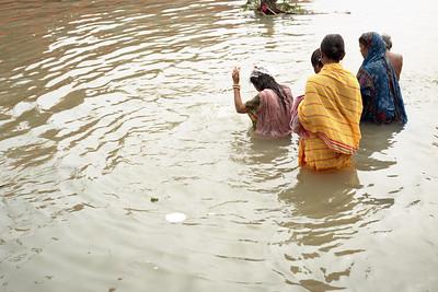 Washing in the Ganga