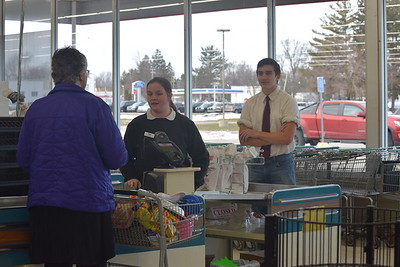 Shopping at Ric's in Hemlock on Wednesday Dec. 20, 2017