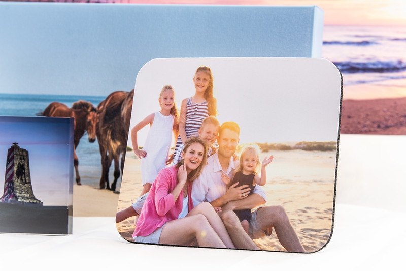 Whether it's your family photo or a sunrise of your favorite place you daydream about while at work (the Outer Banks of course!), a mousepad is a wonderful little addition to brighten up your day-to-day.