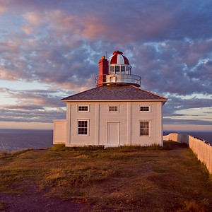 Cape Spear Lighthouse at Sunset