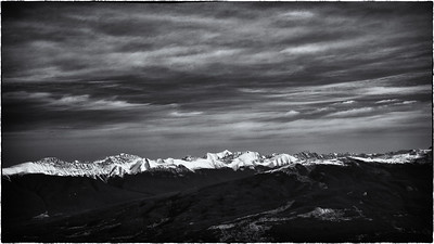 Canadian Rockies Mountain Range