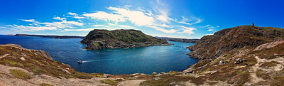 Panoramic of Entrance to St. John, NL
