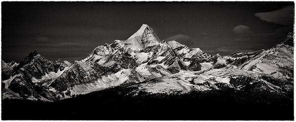 Mount Robson Monachrome