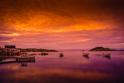 Little Harbour , Twillingate Sunset