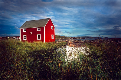 Red Salt  Box House