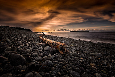 Conception Bay Beach Sunset