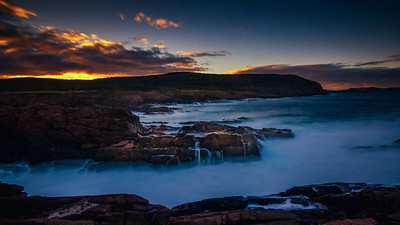 Seascape at Cape Spear