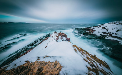 Cape Spear, NL in winter
