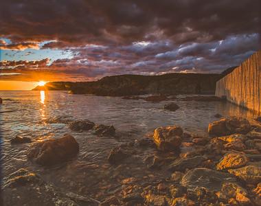 Crow Head Coastline Sunset