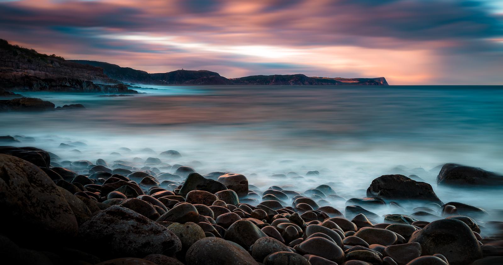 Golden Beach Rocks