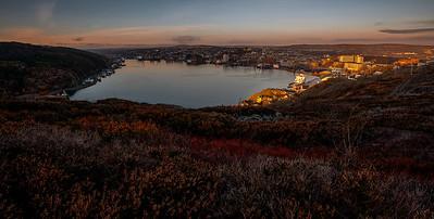 St. John's -Autumn Sunrise