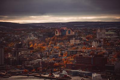 City of St. John's in Fall