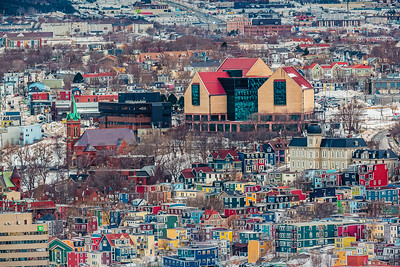 St. John's Multi Coloured City