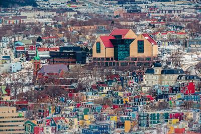 St. John's Multi Coloured City