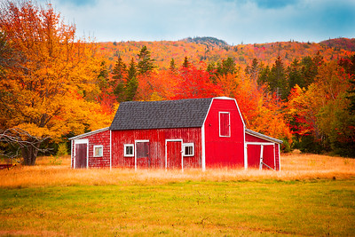 Red Farm Shed, Cabot Trail