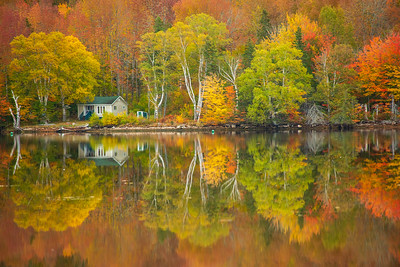 Fall Reflections, Cabot Trail