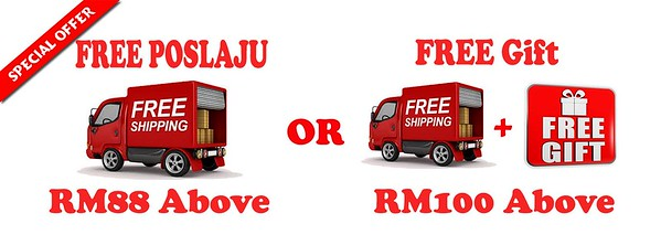 free poslaju and gift