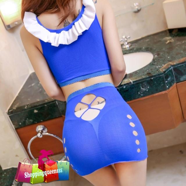 92c7af6ec7 Blue Sexy Body Stocking Dress Open B (end 9 30 2020 2 09 AM)