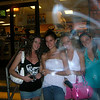 Amber, Rachael, Casey, and Kaitlyn outside of Wawa.