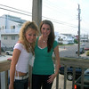 Casey and Amber hanging out on the front deck and getting ready for a night in Ocean City.