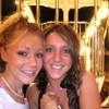 Casey and Lauren on the ferris wheel in Ocean City.
