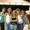 Amber (L), Jayme, Cara, Casey, and Melissa shopping in Ocean City!
